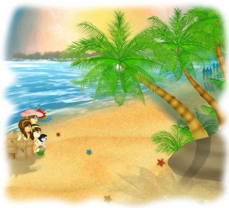 Femdom story day at beach