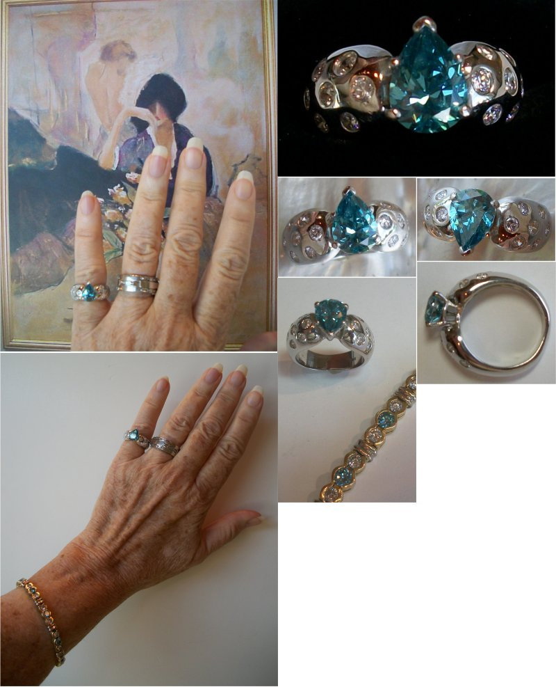 green img with ring on cut payment vintage engagement products rings final blue save r sapphire custom radiant