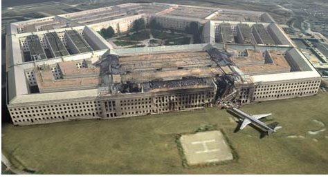 Pentagon Attack Plane Debris